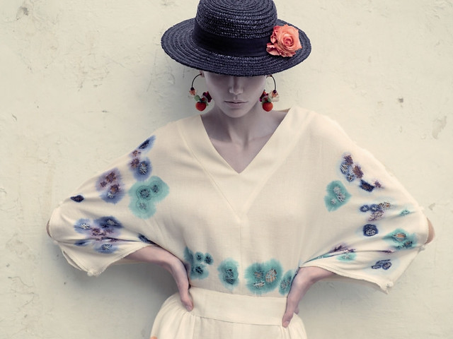 pretty hat denisekatipunera via fashiongonerogue
