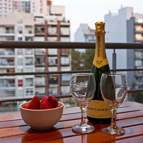 Champagnefrokosten :-)