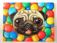 RCS-220 (Rochio Artist) Tags: rochioartist art artist rochio pug sog painting cute