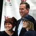 Rick Santorum with supporters