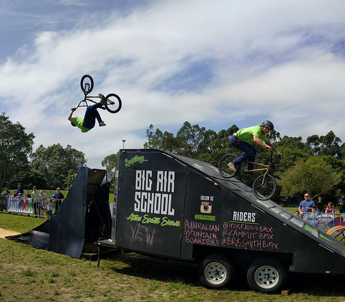 Mike Ross BMX at Sydney Rides Festival 2016