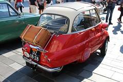 1959 - BMW Isetta 300 - DZ-18-28 -5 (Oldtimers en Fotografie) Tags: 1959bmwisetta300 bmwisetta300 bmwisetta bmw isetta dz1828 midlandclassicshow2016 midlandclassic2016 midlandclassicshow midlandclassic almere oldcars bubblecars classiccars germancars oldtimers oldtimer fransverschuren oldtimersfotografie fotograaffransverschuren