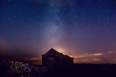 San Giorgio di Oleastreto (ambrogio_mura) Tags: d7100 1870 night photography notturna notturni milky way stelle stars church chiesa sardegna ittiri nikon long exposure tripod