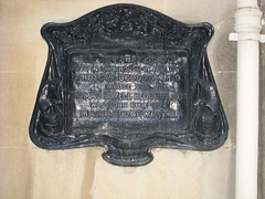 Photo of Humphry Davy, Thomas Beddoes, Thomas Lovell Beddoes, and Maria Edgeworth black plaque