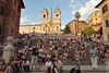 sitting around (wmliu) Tags: italy rome roma europe italia spanishsteps wmliu