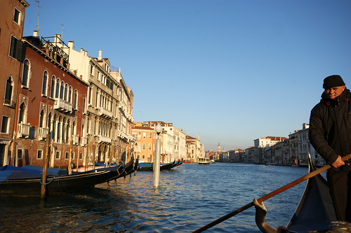 Traghetto trip across the Grand Canal