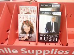 The only books at Wal-Mart (heathermarcroft) Tags: thanksgiving vacation gabby heather laughlin robby 2010 bridgett khloe lazzar