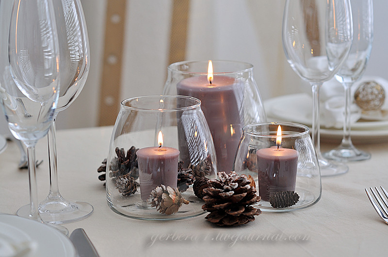 Как оформить свечи на новый гЭльфы на