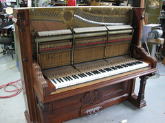 Berlin Piano - fully restored inside! (Ponyta!) Tags: music ontario berlin montral antique montreal victorian piano kitchener beethoven restored classical upright mozart musique vivaldi droit classique victorien restaur