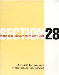 Section 28 document (archivesplus) Tags: history archives manchestercitycouncil section28 lgbteducationlocal governmentlgbtgay gb127