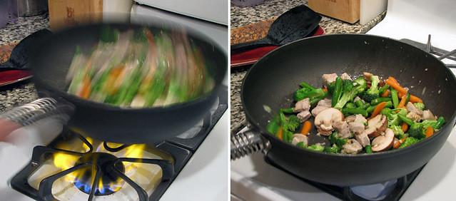 Flipping Stir Fry