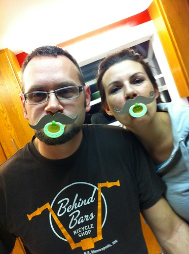 Us with our mustachifiers (or pacifustaches)