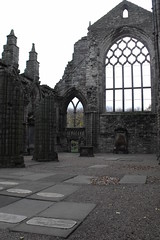 Ruins of Abbey at Palace of Holyroodhouse scotland (acinorev79) Tags: abbey scotland ruins edinburgh edinburgo scozia palaceofholyroodhouse