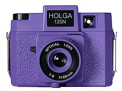 Purple Holga camera