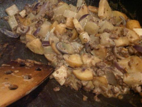 Parsnip kohlrabi curry