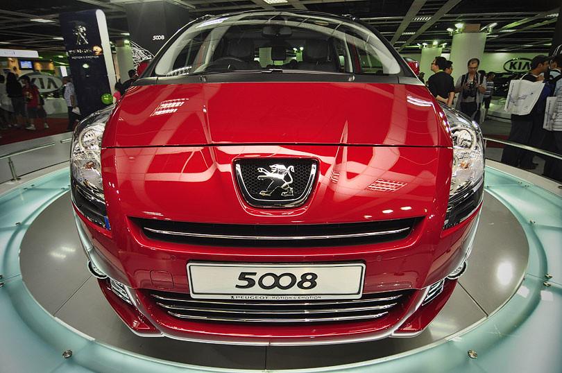 Kuala Lumpur International Motorshow 2010 (KLIMS'10) - Peugeot 5008