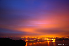 Colorz in the sky before the rain :D (davidyuweb) Tags: from city sky rain sunrise golden gate francisco view d marin before headlands colorz sfbay sfist dsan