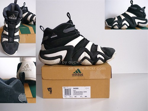 80`S / 90`S VINTAGE ADIDAS EQUIPMENT TORSION KOBE BRYANT (KB 8) HI SHOES