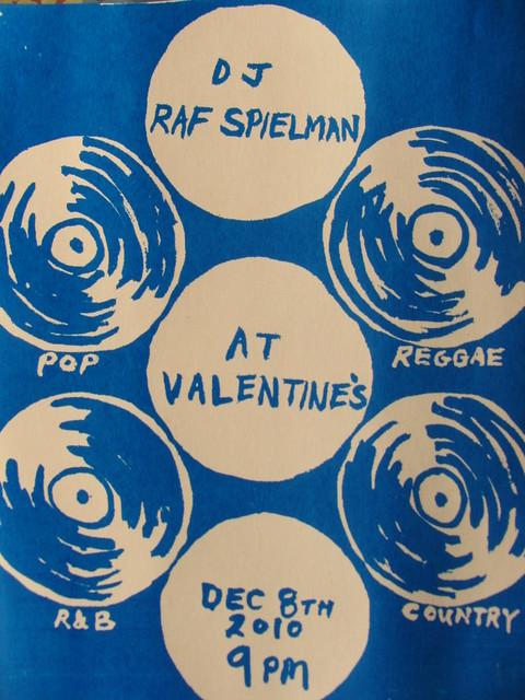 DJ Raf Spielman at Valentine's 1