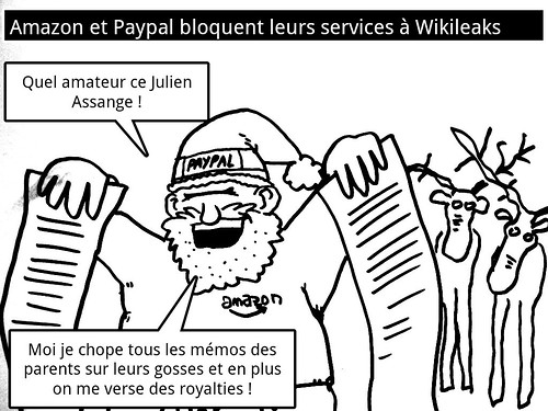 Wikileaks passera t'il noël ?: picture santaleaks by danielbroche