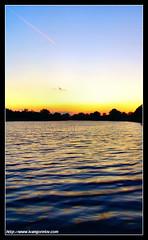 Miracle / Csoda (FuNS0f7) Tags: autumn sunset hungary reflexions szolnok sonycybershotdscf828 digitalcameraclub holttisza alcsisziget