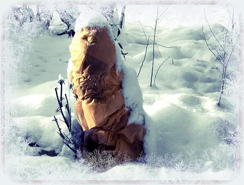 snowmanbwsepia