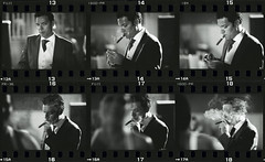 The groom's portrait - 2pm - contact sheet pictures 13-18 (Edward Olive Actor Photographer Fotografo Madrid) Tags: blackandwhite bw blancoynegro monochrome analog monocromo blackwhite noiretblanc monochromatic bn schwarzweiss chiaroscuro lightanddark colourless lightandshade fotografos fotosartisticas fotografiaartistica edwardolive fotografíaartística fotografomadrid fotosartísticas fotosanalogicas fotógrafomadrid fotógrafosmadrid