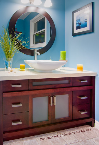 Lightweight panels - Bathroom vanity 1