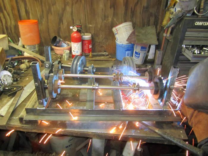 Transmission Welding