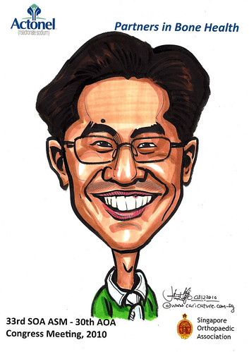 Caricatures for Sanofi-Aventis - 14
