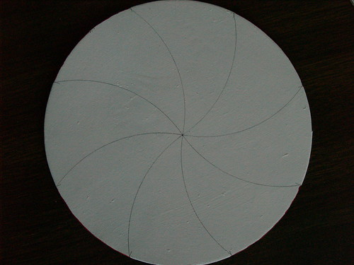 Peppermint Disc Tutorial, Step 1