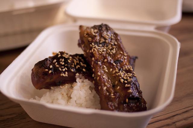Glaze Teriyaki ribs