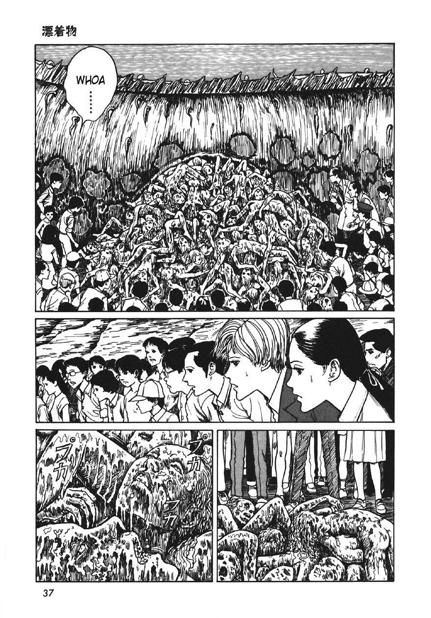 Junji Ito - Thing That Drifted Ashore 19