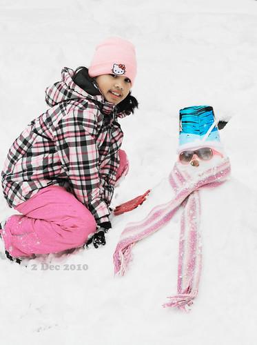 Ate K's snowgirl