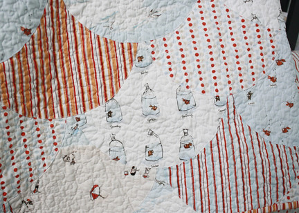 Scallop Quilt - Up Close