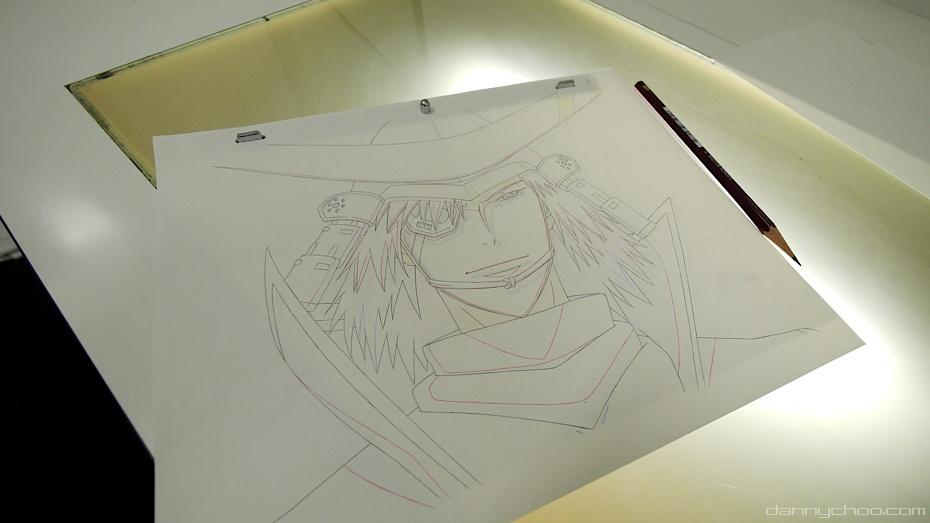 как рисовать аниме на планшете:
