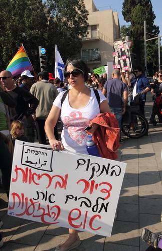 כאש בשדה קוצים. (צולם במצעד זכויות האדם, 10.12.10)