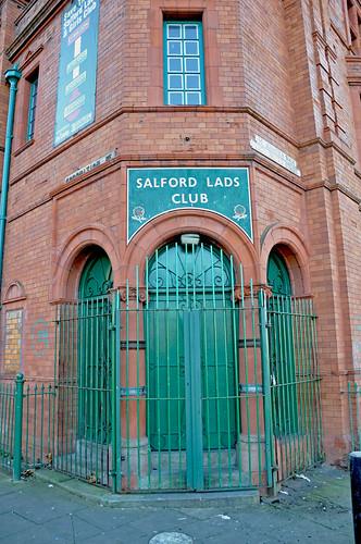 Salford Lads Club (Smiths fans will understand!)