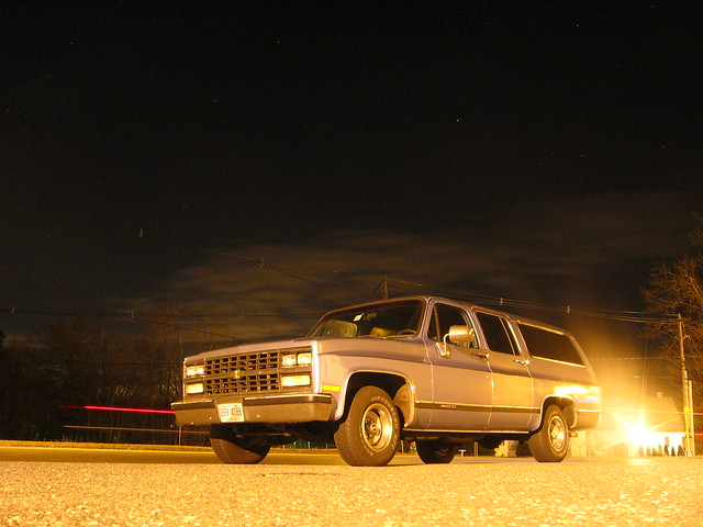 blue sky classic chevrolet night truck dark stars photography gm long exposure time suburban metallic snapshot chevy future 1991 suv 1500 gmc 1990 skyblue 2wd barndoor 4x2 rwd chevroletsuburban burb chevysuburban chevytrucks bluesuburban 1990chevy chevroletburb