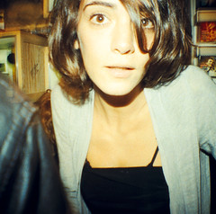 Lomography Second Paris Store Opening Party (16) - 28Oct10, Paris (France) (philippe leroyer) Tags: party portrait woman paris cute sexy film girl beautiful beauty look 35mm square store xpro lomography eyes magasin femme slide mini scan yeux diana beaut 200 opening analogue 135 soire 35 ektachrome ouverture argentique regard carr diapositive ekta diapo pellicule positif lomographyslidexpro200 dianamini