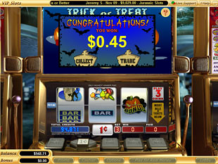 free Trick or Treat slot bonus feature