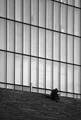 Vertical (the bbp) Tags: windows bw paris france glass vertical steps bn step bnf francia vetro parigi finestre thebbp bibliothquenationalefrancaise