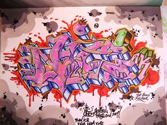nic1 (total annihilation) Tags: color art graffiti 1 sketch bronx ak ibm oldschool kings rocker piece nic burner cru blend blackbook ynn icr kmf aerosal