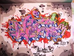 nic1 (total annihilation) Tags: color art graffiti 1 sketch bronx ak ibm oldschool kings rocker piece nic burner cru blend blackbook ynn icr kmf aerosal