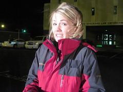 Katie Nordeen, freezing