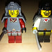 LEGO Collectible Minifigures Series 3 Samurai vs  Castle Ninja