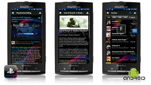 The Official PlayStation App for the Android