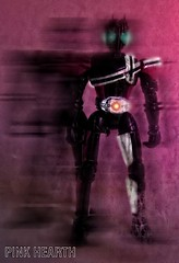 Decade (Luigi Cesare) Tags: pink black ride w double final form blade masked rider ooo rx hibiki faiz decade kabuto kamen deno