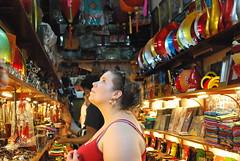 Looking in a Souvenir Shop, Hanoi, Vietnam (blueshoewhotwo) Tags: souvenirs hanoi touristshop