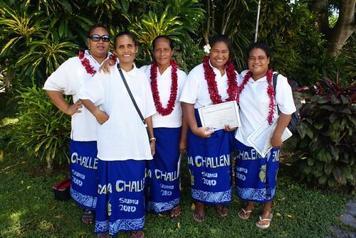 Samoa - Challenge Awards Ceremony